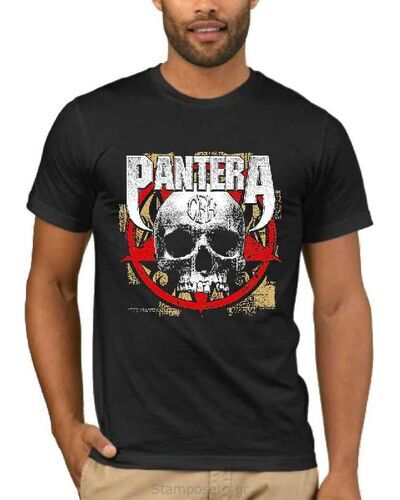 Μπλούζα με στάμπα Pantera Cowboys from Hell CFH Skull