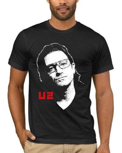 Μπλούζα με στάμπα U2 1839