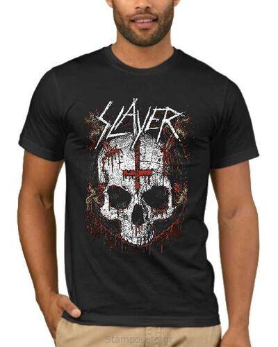 Μπλούζα με στάμπα Slayer Ritual Skull