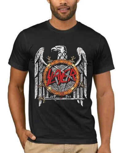 Μπλούζα με στάμπα Slayer Silver Eagle