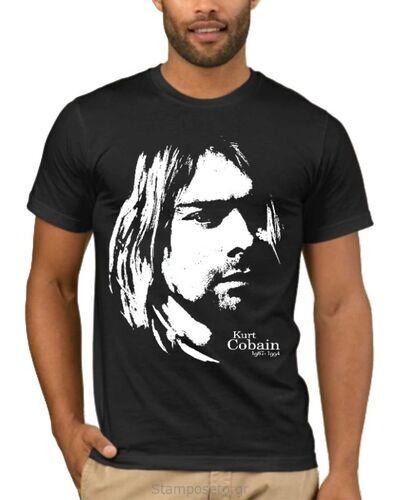 Μπλούζα με στάμπα Nirvana Kurt Cobain