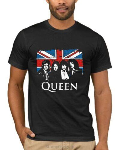 Μπλούζα με στάμπα Queen 2431