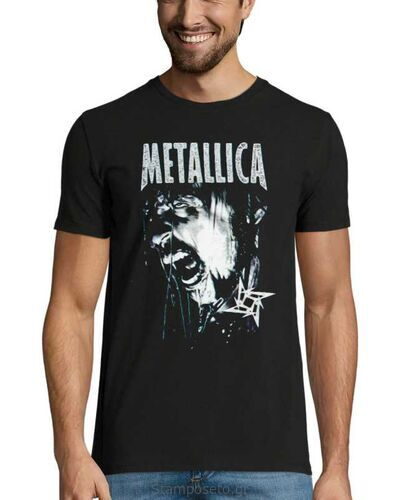 Μπλούζα με μεταξοτυπία Metallica Vintage T Shirt 90's 1999 Gods Of Metal Concert Hetfield