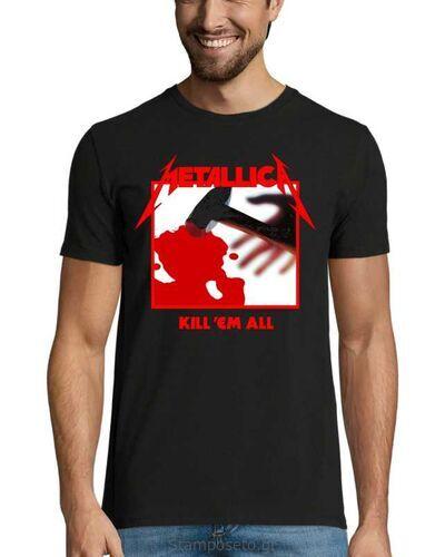 Μπλούζα με μεταξοτυπία Metallica Kill Em All Tracks