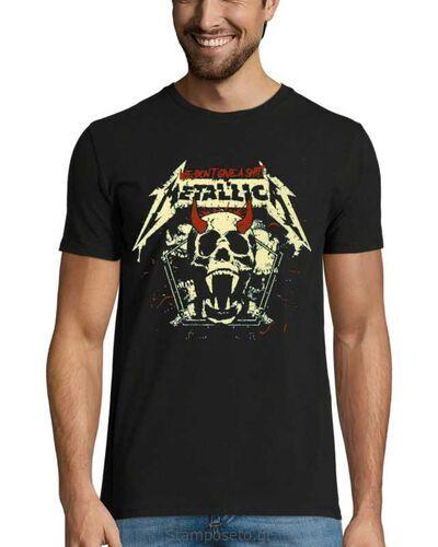 Μπλούζα με μεταξοτυπία Metallica We Don't Give a Shit!