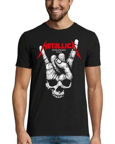 Μπλούζα με μεταξοτυπία Metallica WorldWired Tour