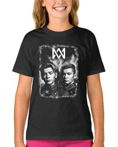 Παιδικό μπλουζάκι με μεταξοτυπία Marcus & Martinus
