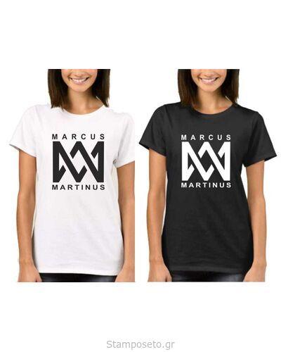 Μπλούζα t-shirt unisex Marcus & Martinus