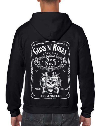 Μπλούζα με μεταξοτυπία Guns N' Roses Paradise City