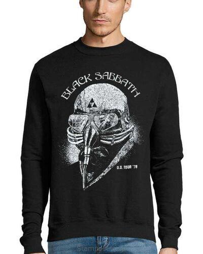 Μπλούζα με μεταξοτυπία Black Sabbath Tony stark