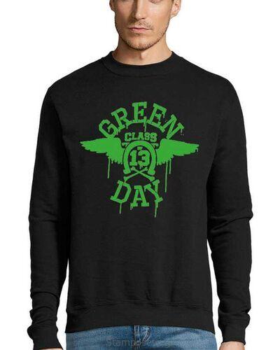 Μπλούζα με μεταξοτυπία Green Day Class 13