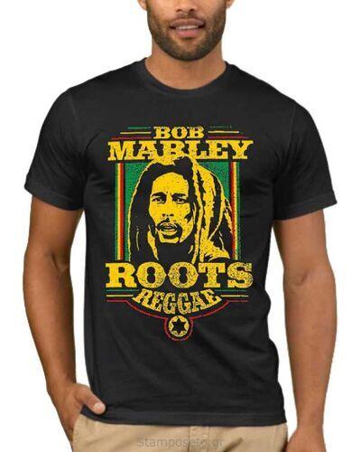 Μπλούζα με μεταξοτυπία Bob Marley Roots Reggae