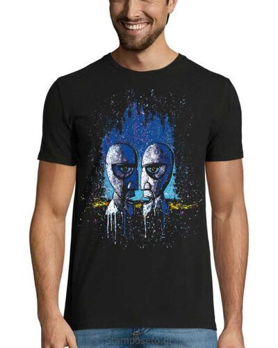 Μπλούζα με μεταξοτυπία Pink Floyd Division Bell Drip